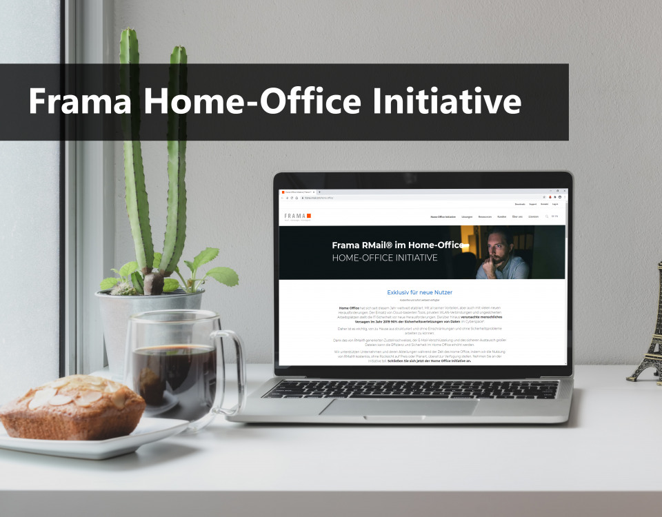 Frama Home-Office Initiative - 2te Runde