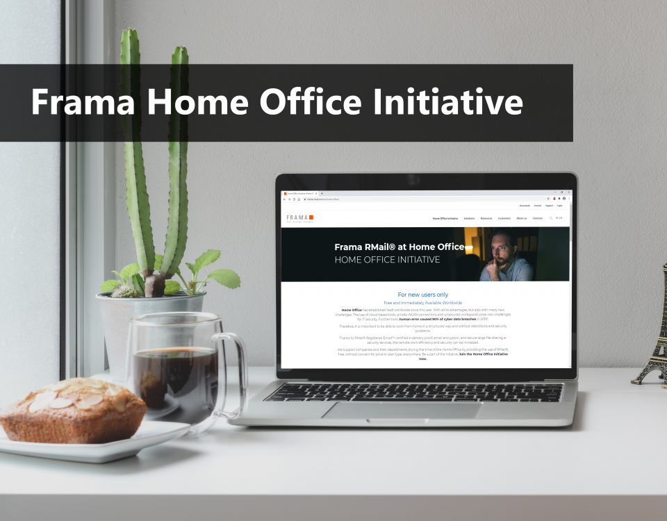 Frama Home Office Initiative - 2nd round