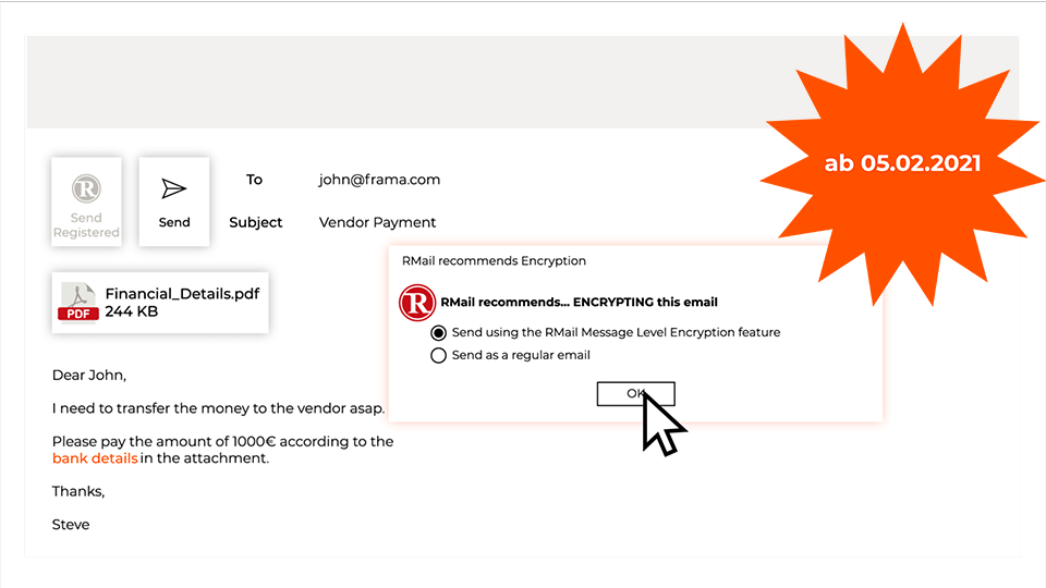 RMail Recommends for Outlook